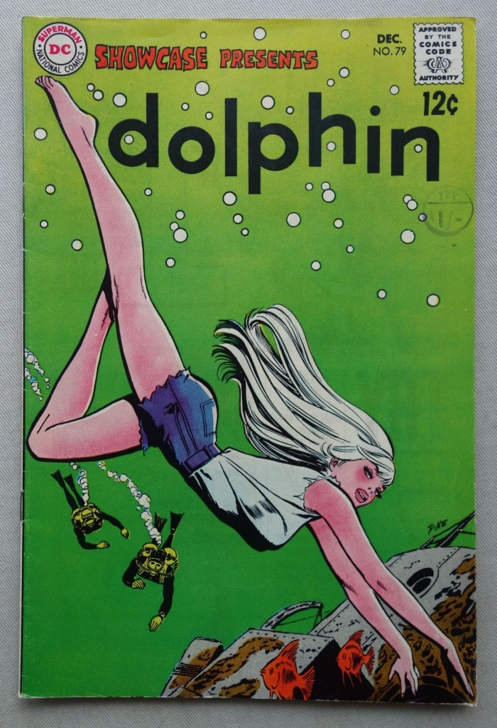 Showcase Presents #79 -Dolphin, cover by Jay Scott Pike