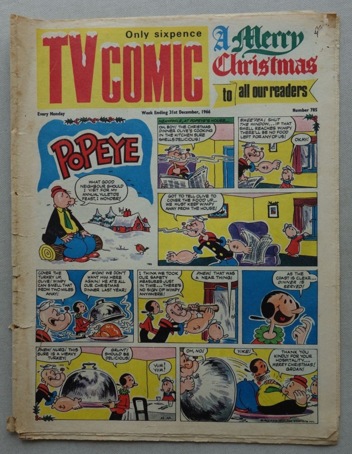TV Comic 785 - cover dated 31st December 1966