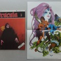 Dracula comic Volume 1 #1 (1971) and free gift poster, published by New English Library