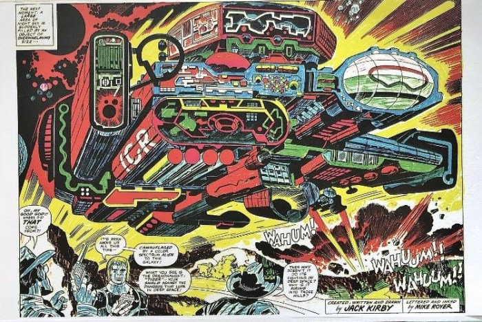 Jack Kirby Care Packages - Sample