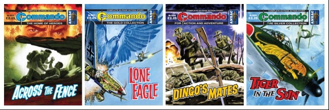 New Commando Comics commemorate ANZAC Day, out today!