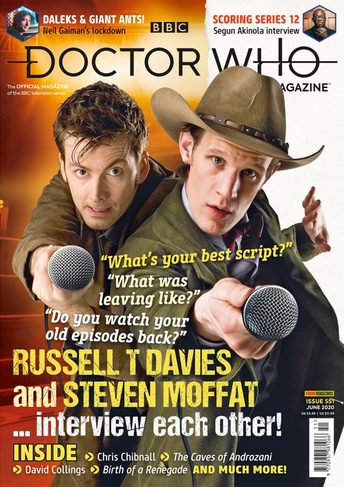 Doctor Who Magazine Issue 551 - Cover