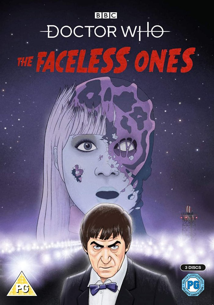 Doctor Who - The Faceless Ones Blu-Ray and DVD