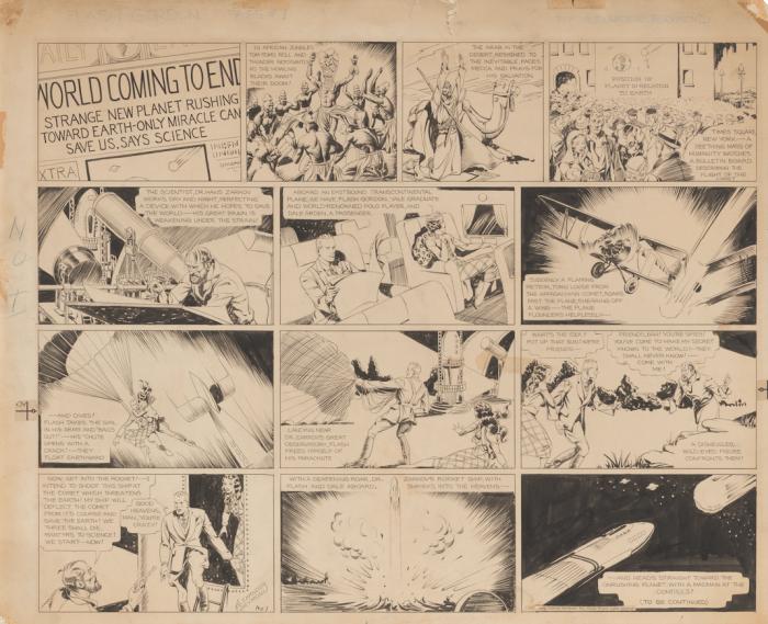 Flash Gordon Episode 1 by Alex Raymond - 7th January 1934