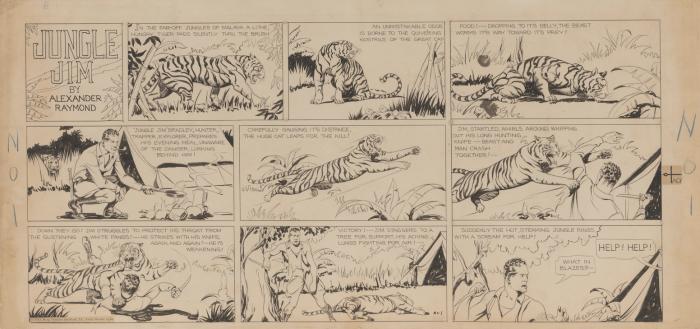 Jungle Jim Episode 1 by Alex Raymond - 7th January 1934
