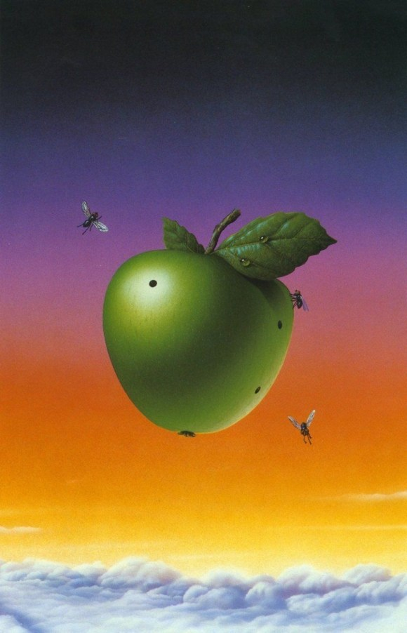 The cover of Mouches, a wordless graphic novel by Tim White