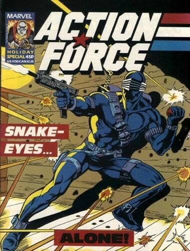 Action Force Holiday Special - Cover by Mike Collins