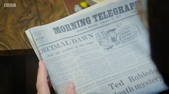 A vintage issue of Sheffield's Morning Telegraph featuring a cartoon by Ralph Whitworth. His son James is a cartoonist for Private Eye