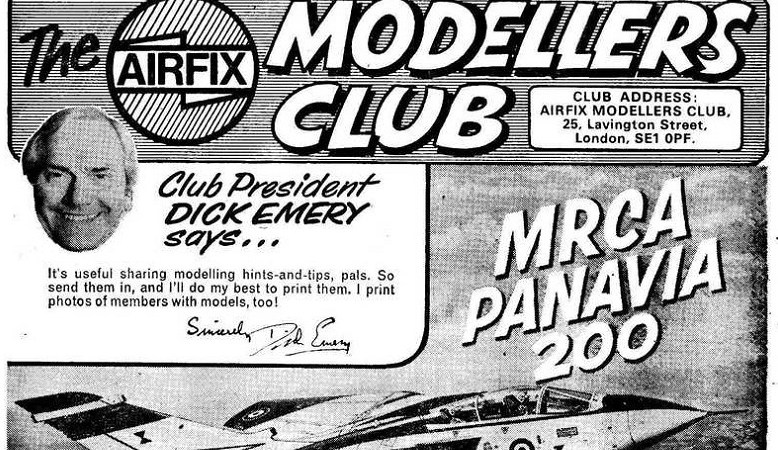 """Were you a member of the """"Airfix Modellers' Club""""?"""