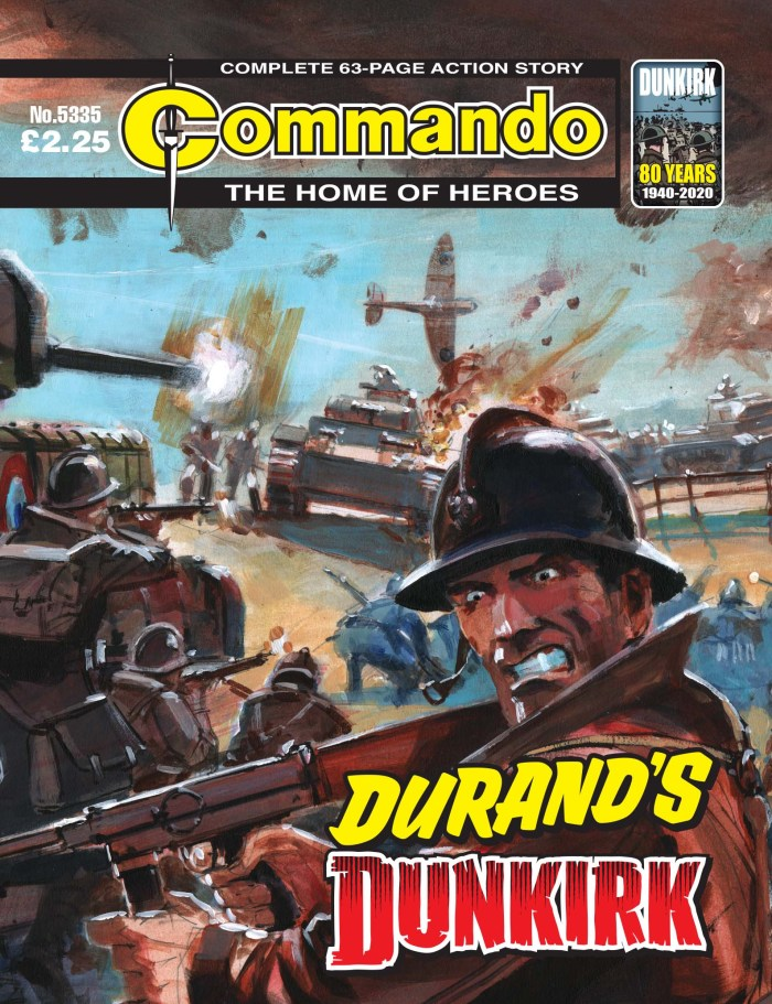 Commando 5335: Home of Heroes: Durand's Dunkirk