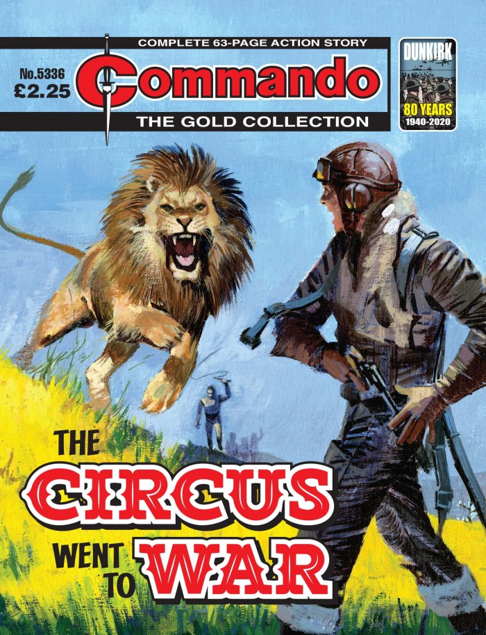 Commando 5336 - Gold Collection: The Circus Went to War
