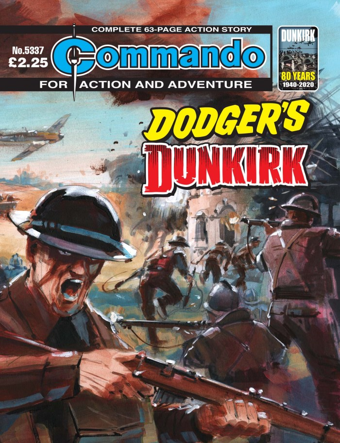 Commando 5337: Action and Adventure: Dodger's Dunkirk