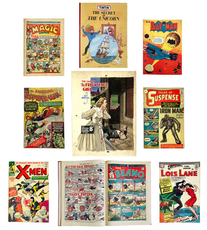 Compalcomics May/June 2020 auction catalogue