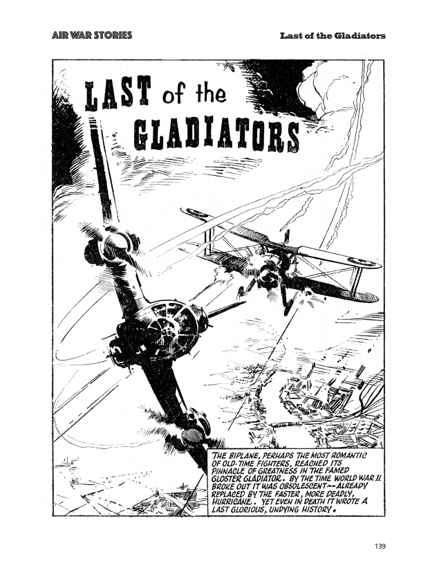 Fleetway Picture Library Classics - Air War Stories - Last of the Gladiators