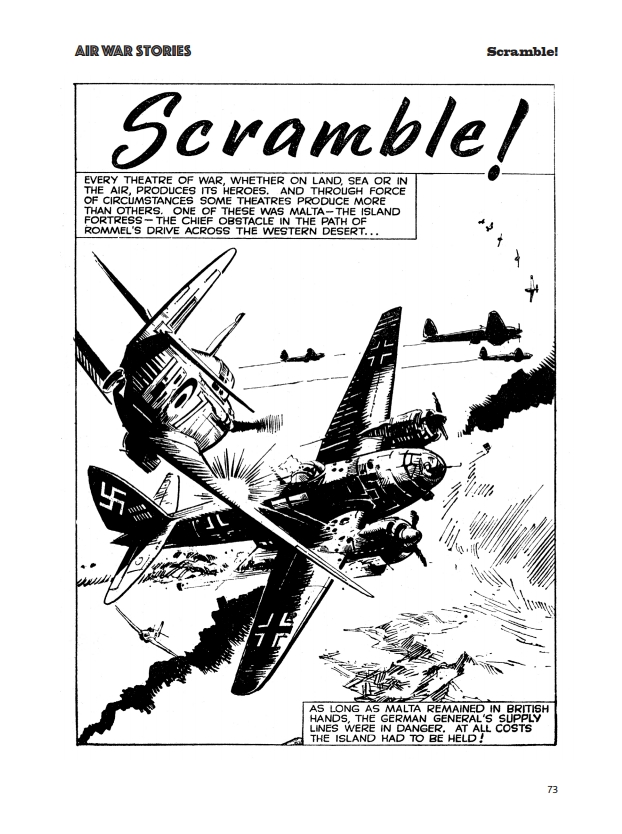 Fleetway Picture Library Classics - Air War Stories - Scramble