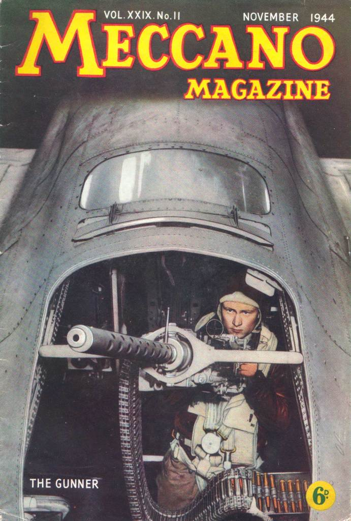 Meccano Magazine, November 1944 - Cover