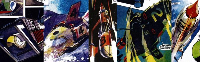 Thunderbirds art by Frank Bellamy