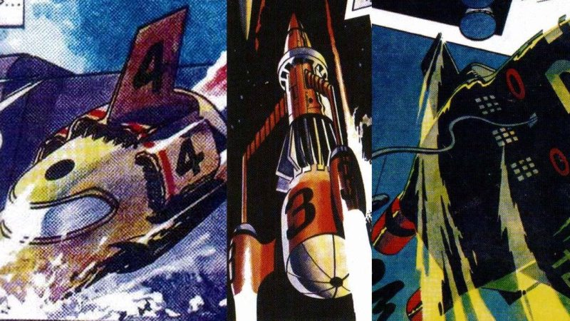 Sequential 21 fanzine on course, charting Gerry Anderson show-inspired comics