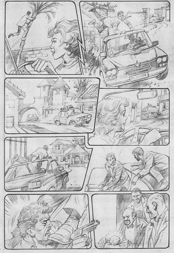 Young Elite - Dan-Air Custom Comic - comic art by Mike Western