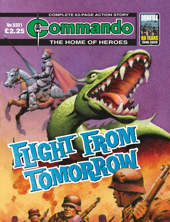 Commando 5331: Home of Heroes: Flight from Tomorrow