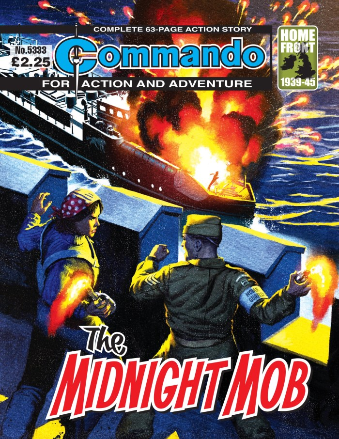 Commando 5333: Action and Adventure: The Midnight Mob