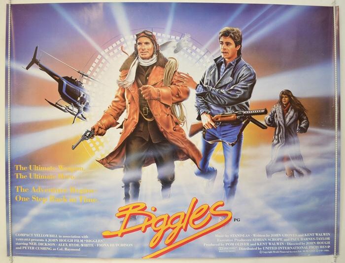 Biggles (UIP, 1986). UK Quad Poster