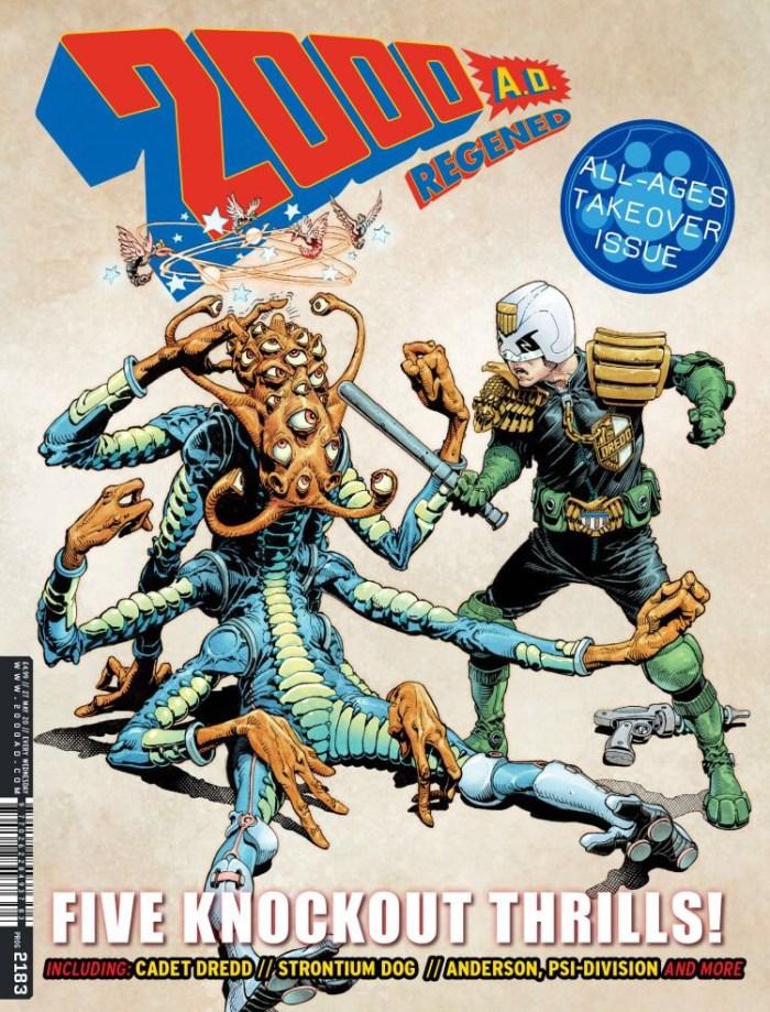 2000AD Prog 2183 - Cover