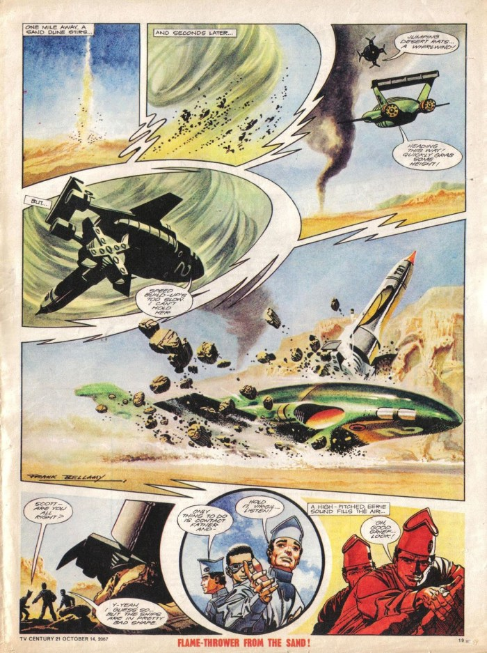 "TV21 No 143 - ""Thunderbirds - The Earthquake Maker"" Page 2"