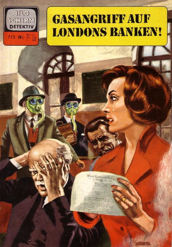Beeldscherm Classics Detective #713 featuring Paul Temple aka Paul Vlaanderen