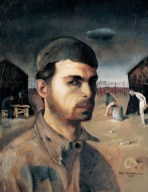 Felix Nussbaum - Self Portrait, 1940