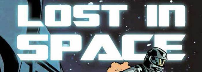 Lakes International Comic Art Festival Lost in Space Anthology Banner
