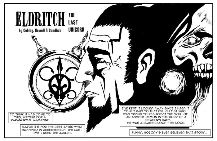 Paragon Comic Issue 25 - Eldritch