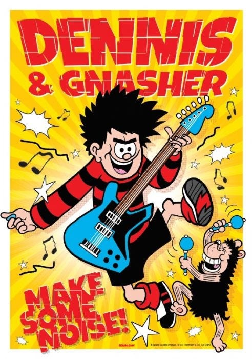 Dandy and Beano Annuals 2021 - DCT Poster Bonus