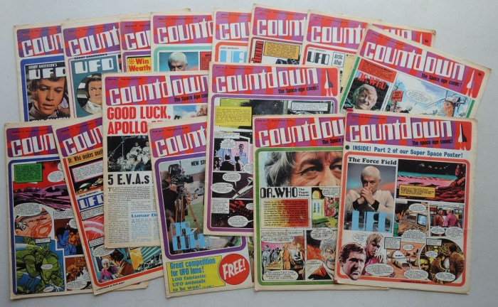 Countdown Issues 20-34 (1971)