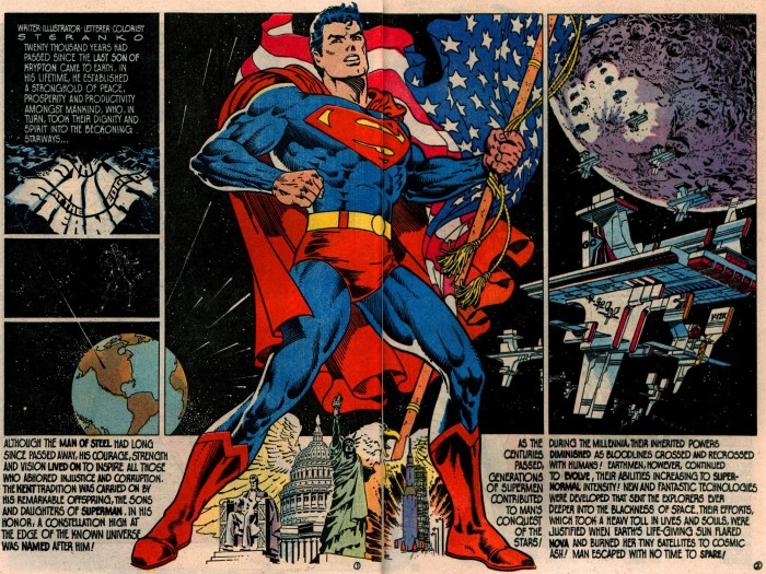 Superman by Jim Steranko - from Superman #400