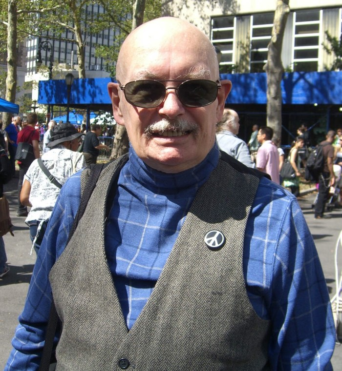 Denny O'Neill at the 2009 Brooklyn Book Festival. Photo by Luigi Novi