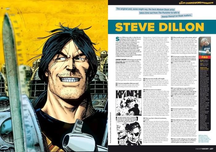Vworp! Vworp! Compendium - Steve Dillon Interview