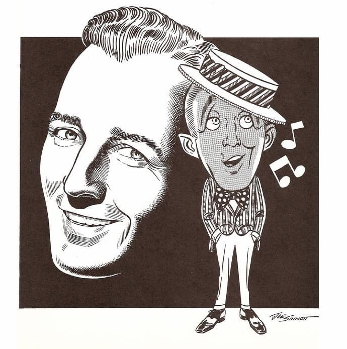 One of Joe Sinnott's tributes to Bing Crosby