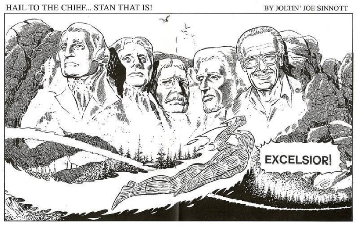 A 2012 tribute to Stan Lee by Joe Sinnott