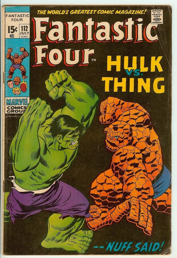 Fantastic Four #112 - Cover