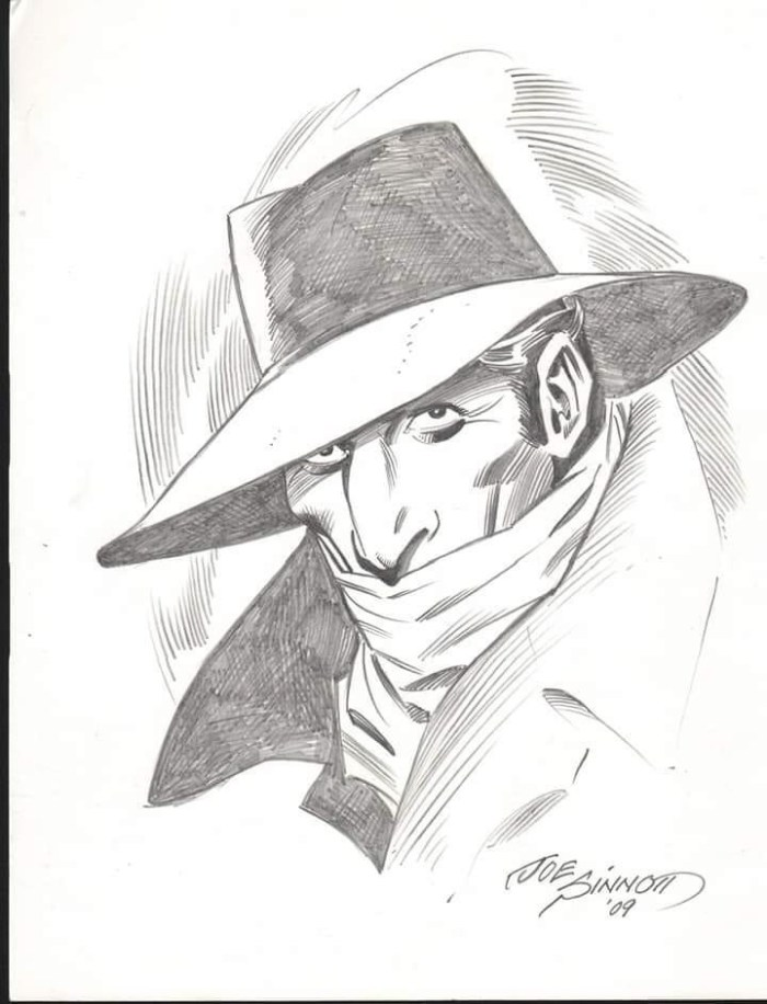 The Shadow by Joe Sinnott