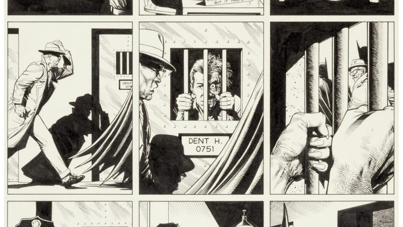 """Batman: The Killing Joke,: Jack Kirby Original Art, help push Day 1 of Heritage Auctions' Comics & Comic Art Event Past $5 Million Mark"