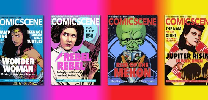 ComicScene - The History of Comics 1930 - 2030 Montage
