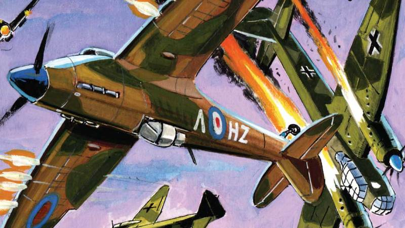 Commando comic marks the Battle of Britain