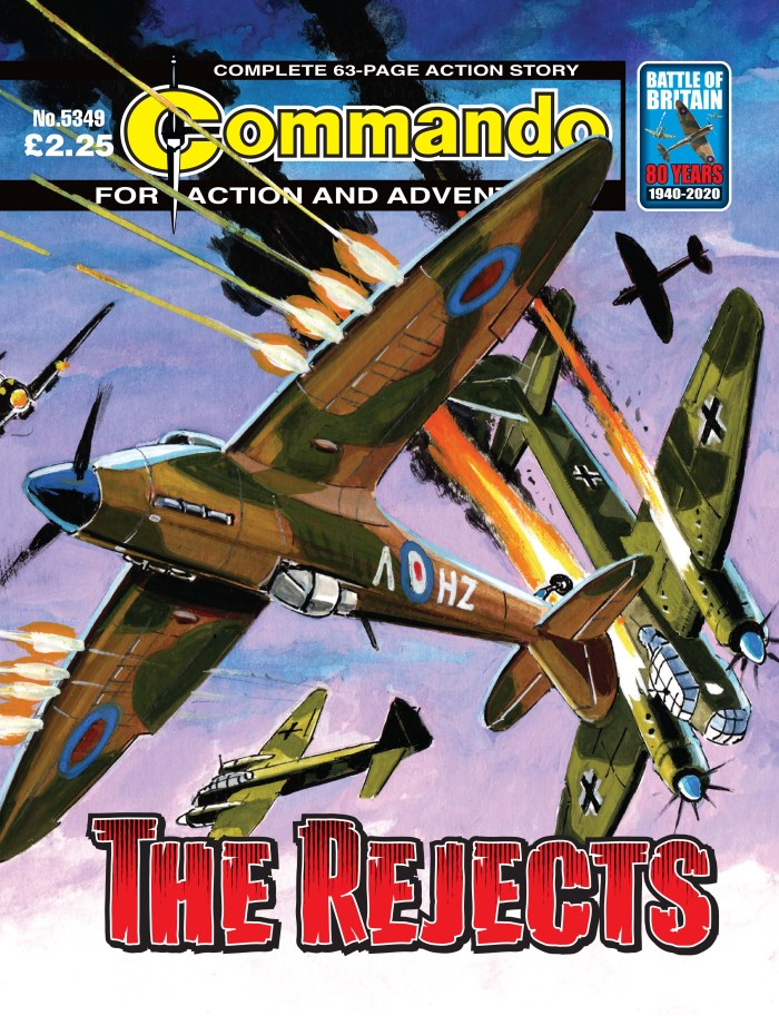 Commando 5349: Action and Adventure - The Rejects