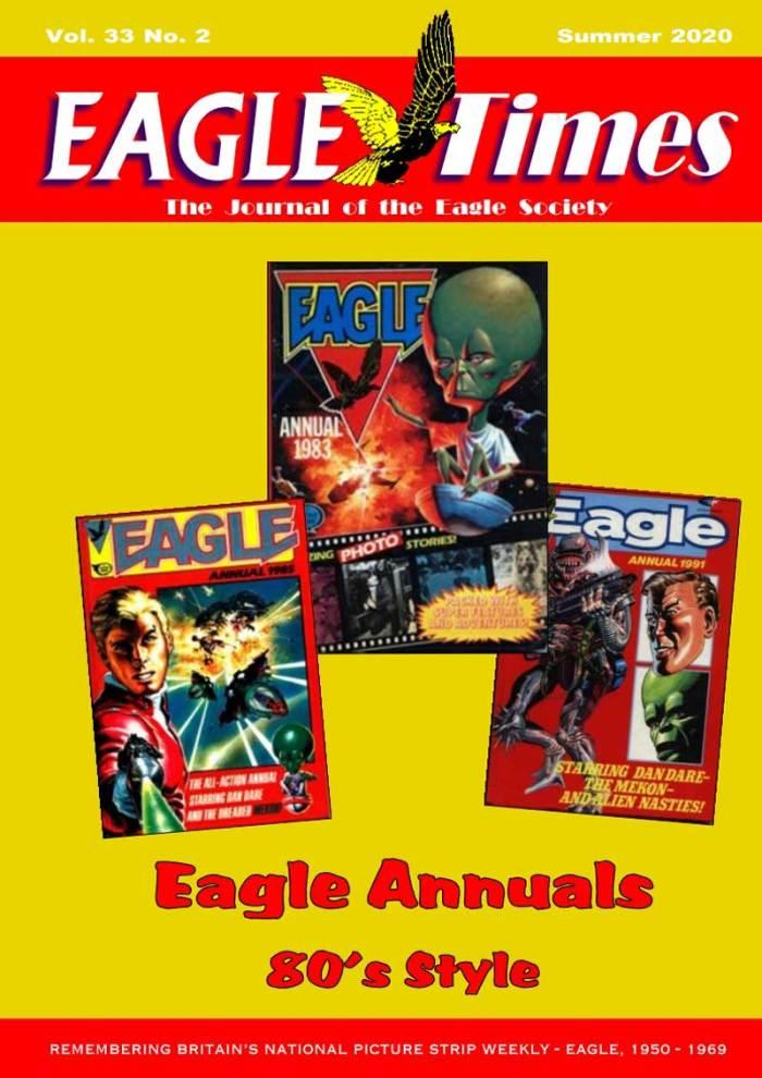 Eagle Times Volume 33 No. 2 - Cover