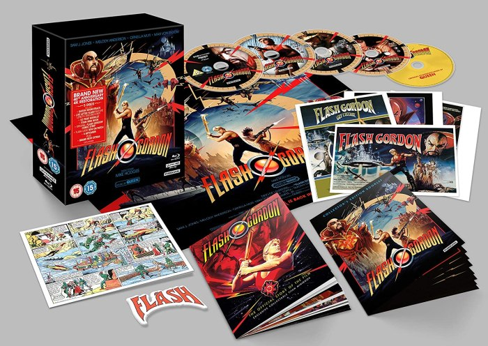 Flash Gordon (40th Anniversary) 4K UHD Collector's Edition (Blu-ray)