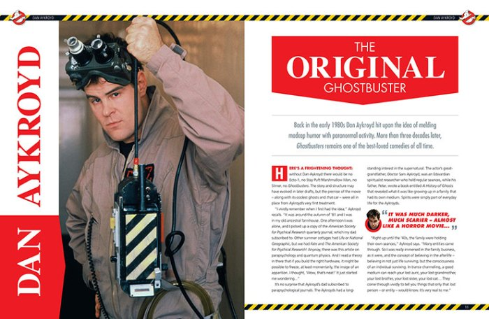 Ghostbusters: The Inside Story - Sample Pages