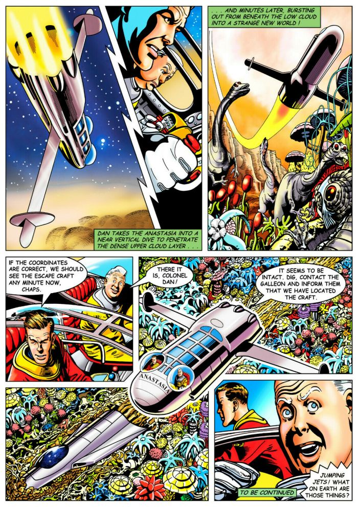 Spaceship Away Issue 51 - Dan Dare