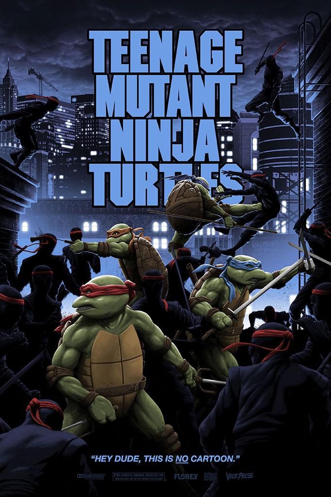 Teenage Mutant Ninja Turtles by Florey
